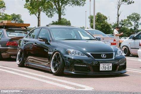 stanced lexus stanced lexus and toyotas at 2013 fitted fes autoevolution