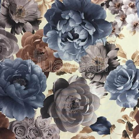 Upholstery Fabrics Melbourne by Floral Printing Velvet Upholstery Fabric Melbourne