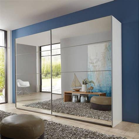 One Door Mirrored Wardrobe by 15 Best Ideas Of Mirror Wardrobes
