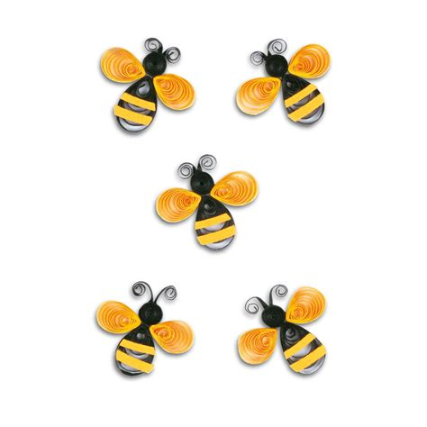 image detail  labels bees quilling  sheet ref