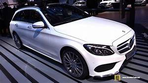 Mercedes Classe C220 : 2015 mercedes benz c class c break wagon c220 diesel exterior and interior walkaround youtube ~ Maxctalentgroup.com Avis de Voitures