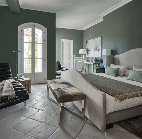Green Tile Living Room by Farrow And Green Smoke On The Walls And Cornforth