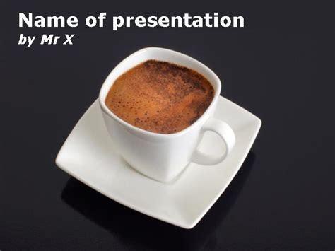 tasse kaffee powerpoint vorlage power point vorlagende