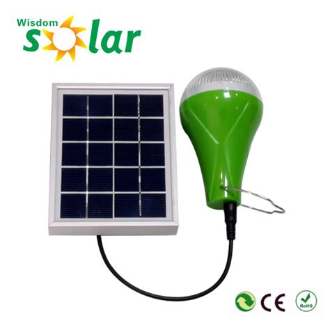 2016 popular small portable led indoor solar power lights