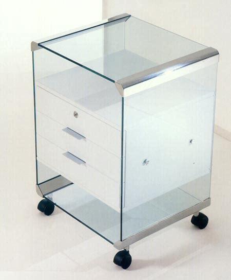 caisson de bureau design caisson de bureau en verre