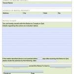 nj notice to quit form download fillable new jersey eviction notice forms