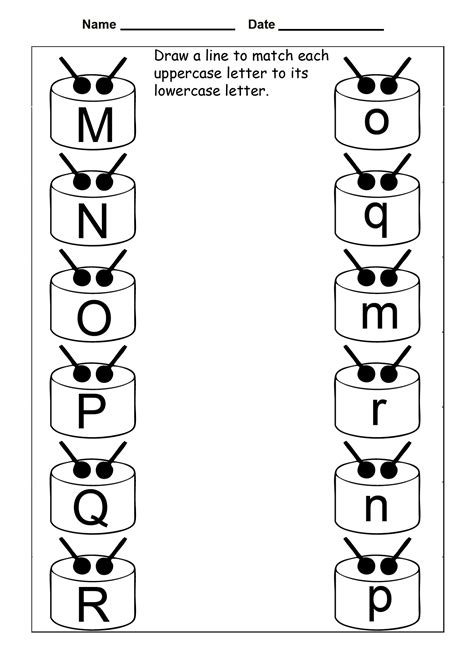 printable uppercase  lowercase letters activity shelter