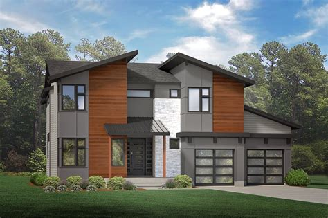 Modern Style Homes by Modern Style Homes To Fill Suburban Development S Next