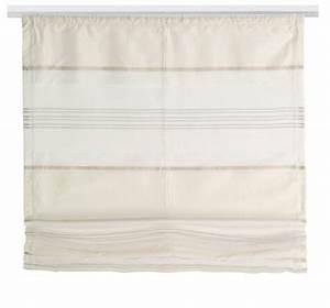 Raffrollo Mit Klettband : deko raffrollo horizon schlaufen oder klettband silk ~ Watch28wear.com Haus und Dekorationen
