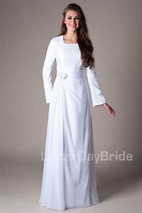 boston modest mormon lds temple dress temple dresses With mormon wedding dresses rules