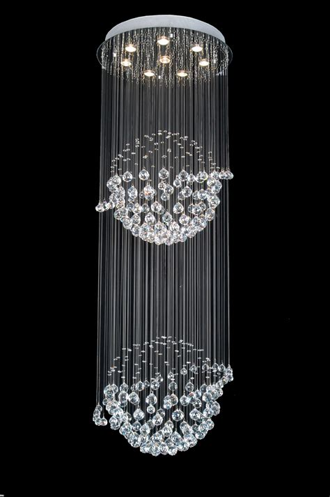 modern crystal light fixtures a93 809 8 gallery modern contemporary crystal light fixture