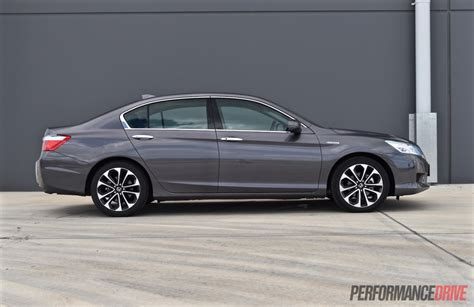 Honda Accord 2015 by Honda Accord Sport Hybrid Review Performancedrive