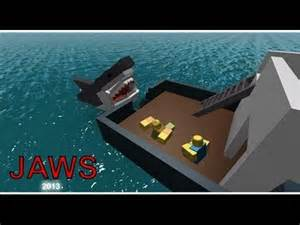 Jaws Roblox Shark Attack Game