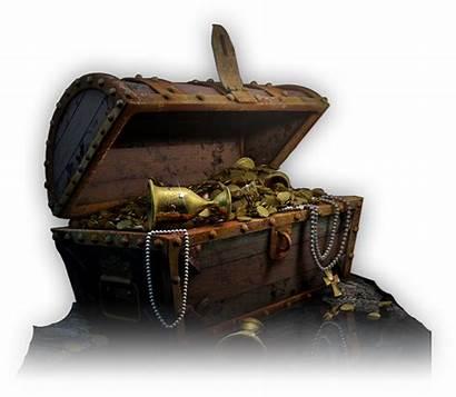 Treasure Escape Chest Open Pirate Adventure Captain