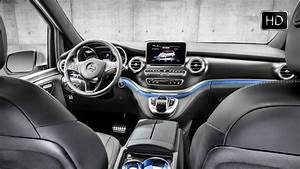 Mercedes Vito Interieur : 2016 mercedes benz v class 250d amg line interior design hd youtube ~ Maxctalentgroup.com Avis de Voitures
