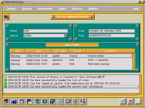 Software Review: Arkeia Backup - The Community's Center ...