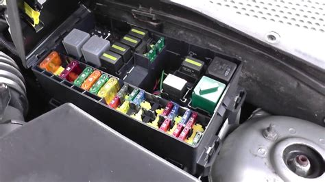 Ford Focu Fuse Box by Ford Focus Fuse Relay Box Location