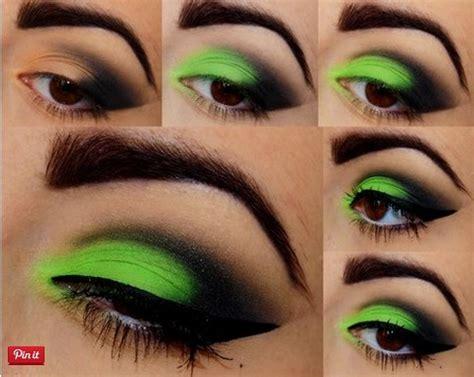 colorful makeup tutorials  women pretty designs