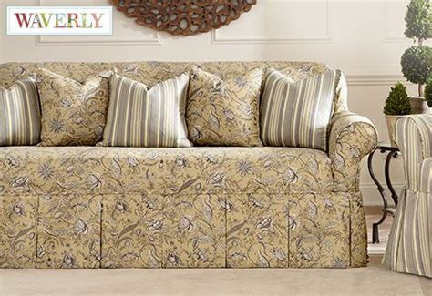 Fanciful Floral By Waverly™ One Piece Slipcovers A