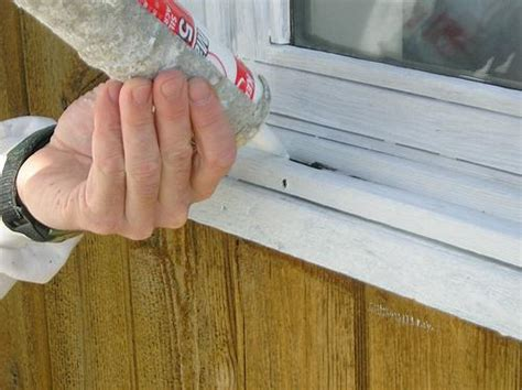 Caulking Window Sills by Caulk Before You Paint Window Frames Managing Home