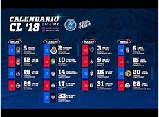 Club Puebla Calendario Oficial Clausura 2018 Liga Mx