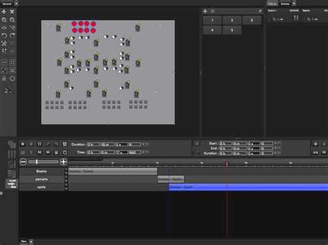 Professional Layout Generator by Marq Lighting Professional Lighting Performance Effects