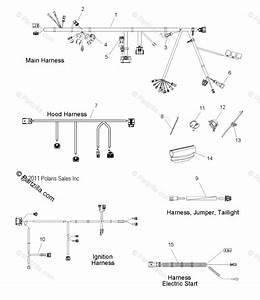 Polaris Snowmobile 2012 Oem Parts Diagram For Electrical