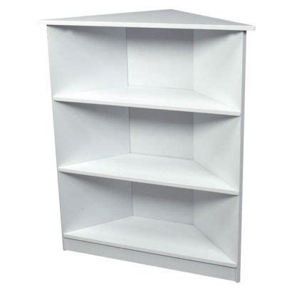 Small White Corner Bookcase by Gift 3 Tier Corner Bookcase White Office Guest