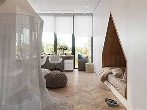 Chambre Enfant Moderne : cr er une chambre enfant design super moderne et originale ~ Teatrodelosmanantiales.com Idées de Décoration