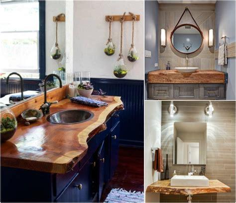 plan de travail cuisine bois brut plan de travail salle de bain en bois pour tous les styles