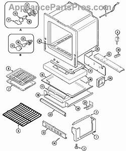 Parts For Magic Chef Cgr3760adw  Oven    Base Parts