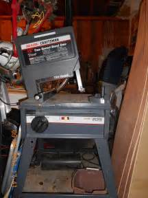 """Craftsman 12"""" 1-1/8 HP 2-Speed Band Saw - Tilt Head - Not for parts"""