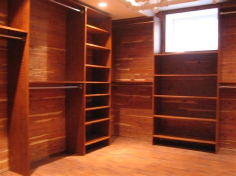 Cedar Clothes Closet  Design Build Planners