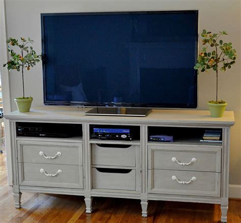 dresser for tv repurposing furniture how to turn a dresser into a tv stand