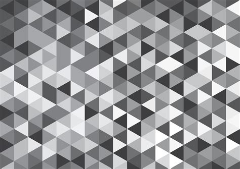 Vector Geometric Background Mosaic Of Triangles And Cubes
