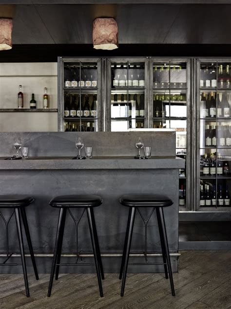 Minimalist Bar Design by Copenhagen S Minimalist Musling Restaurant The Luxpad