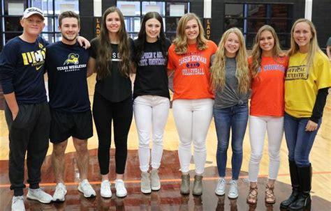 fall signing day features aledo signees