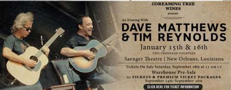 dave matthews fan club dmb news dave and tim in new orleans boyd to sit in