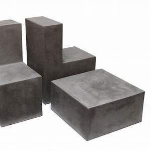 Furniture: DIY Cement Coffee Table Look Perfect For Your