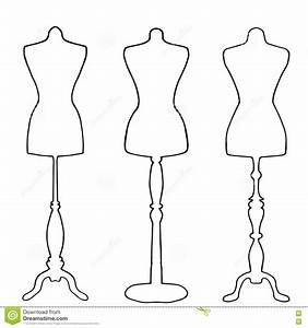Pretty Mannequin Template Pictures >> Colored Female Body Template ...