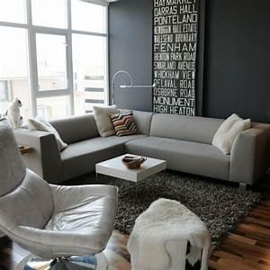 Wohnzimmer Gestalten Grau : wohnzimmer grau in 55 beispielen erfahren wie das geht ~ Michelbontemps.com Haus und Dekorationen