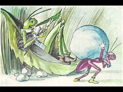 aesop s fables the ant and the grasshopper