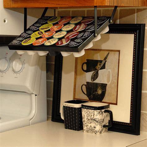 cup holders for kitchen cabinets cabinet keurig k cup holder 8518