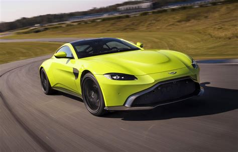 all new aston martin vantage debuts with twin turbo v8