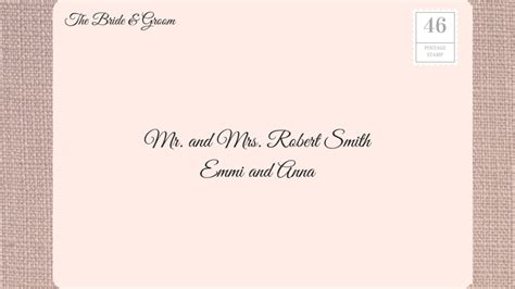 How To Address Wedding Invitations  Southern Living