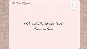 how to address wedding invitations southern living With wedding invitations address to parents