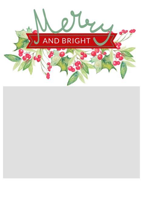 christmas card templates  crazy craft lady