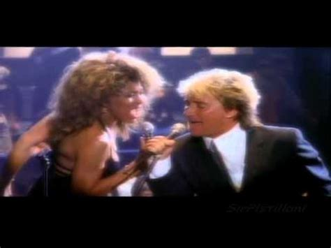 Tina Turner & Rod Stewart  Get Back & Hot Legs Live