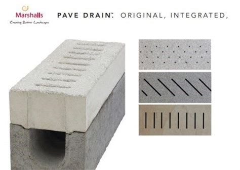 marshalls drainage solutions pave drain abellandscapes