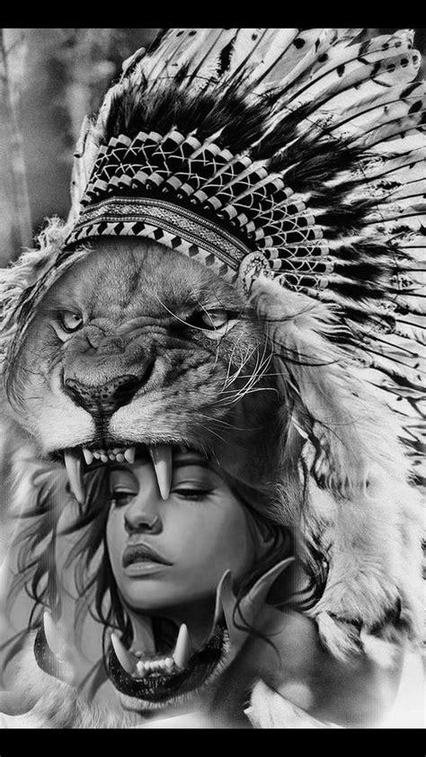 Pin by Jhing Bonifacio on lion | Native tattoos, Sleeve tattoos, Girl tattoos